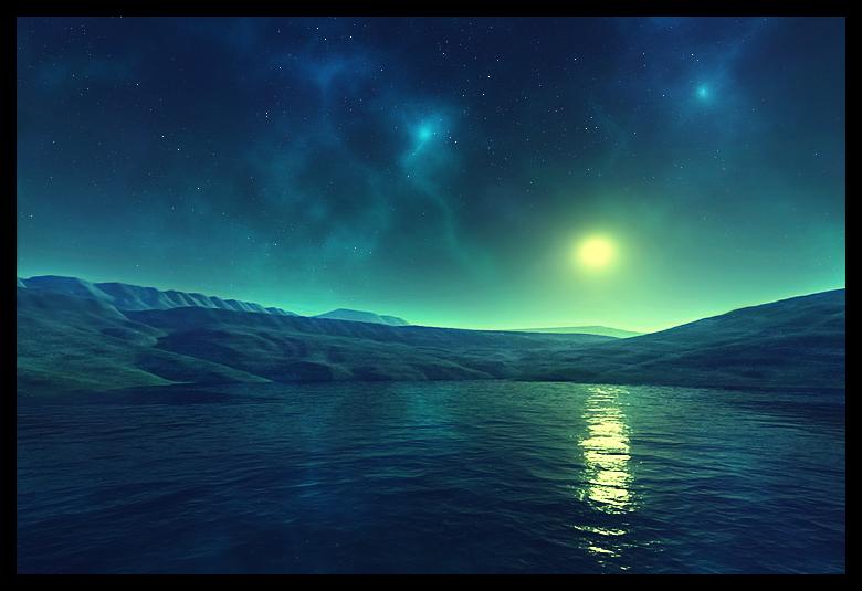 Moonlit Space