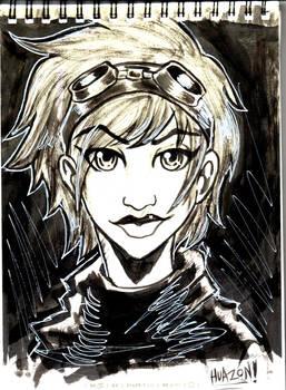 Daily Sketch 07 (my sketchbook)