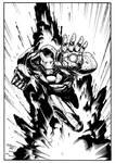 Iron Man pin-up
