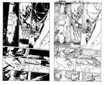 Wolverine MAX #2, page 2 with pencils