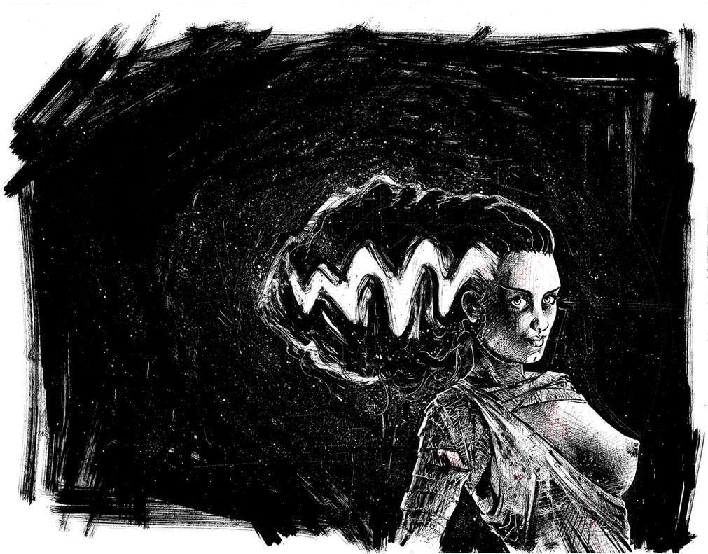 Bride of Frankenstein by JulienHB
