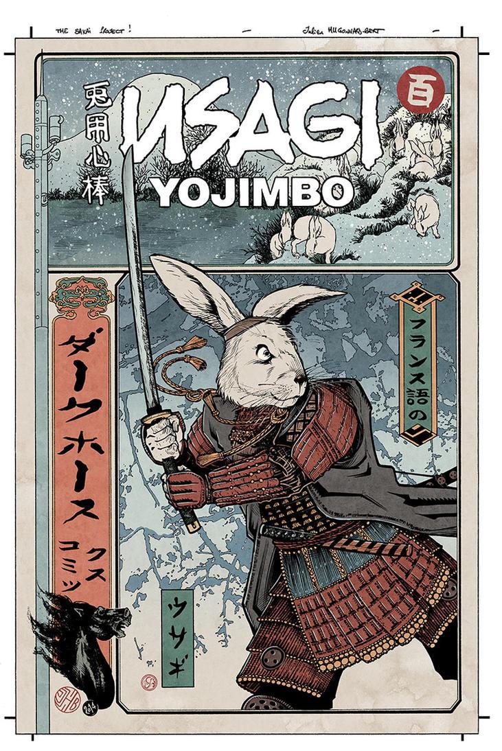 Usagi Yojimbo colors by JulienHB