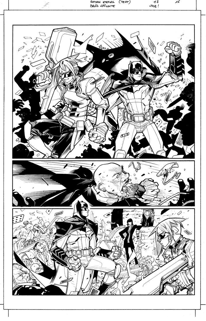Batman Eternal 43 p 16 by JulienHB