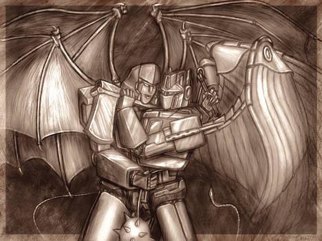 Apocalypse: Optimus and Megs