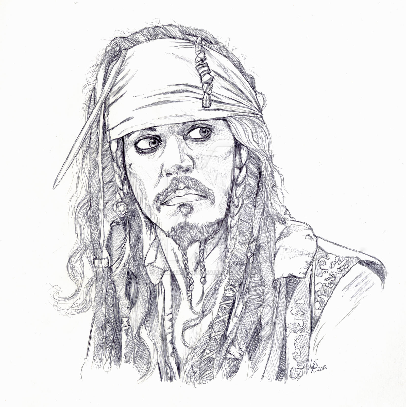 Jacksparrow by jessburnett on DeviantArt