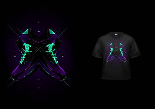 Nike - Glow In The Dark Tee #2