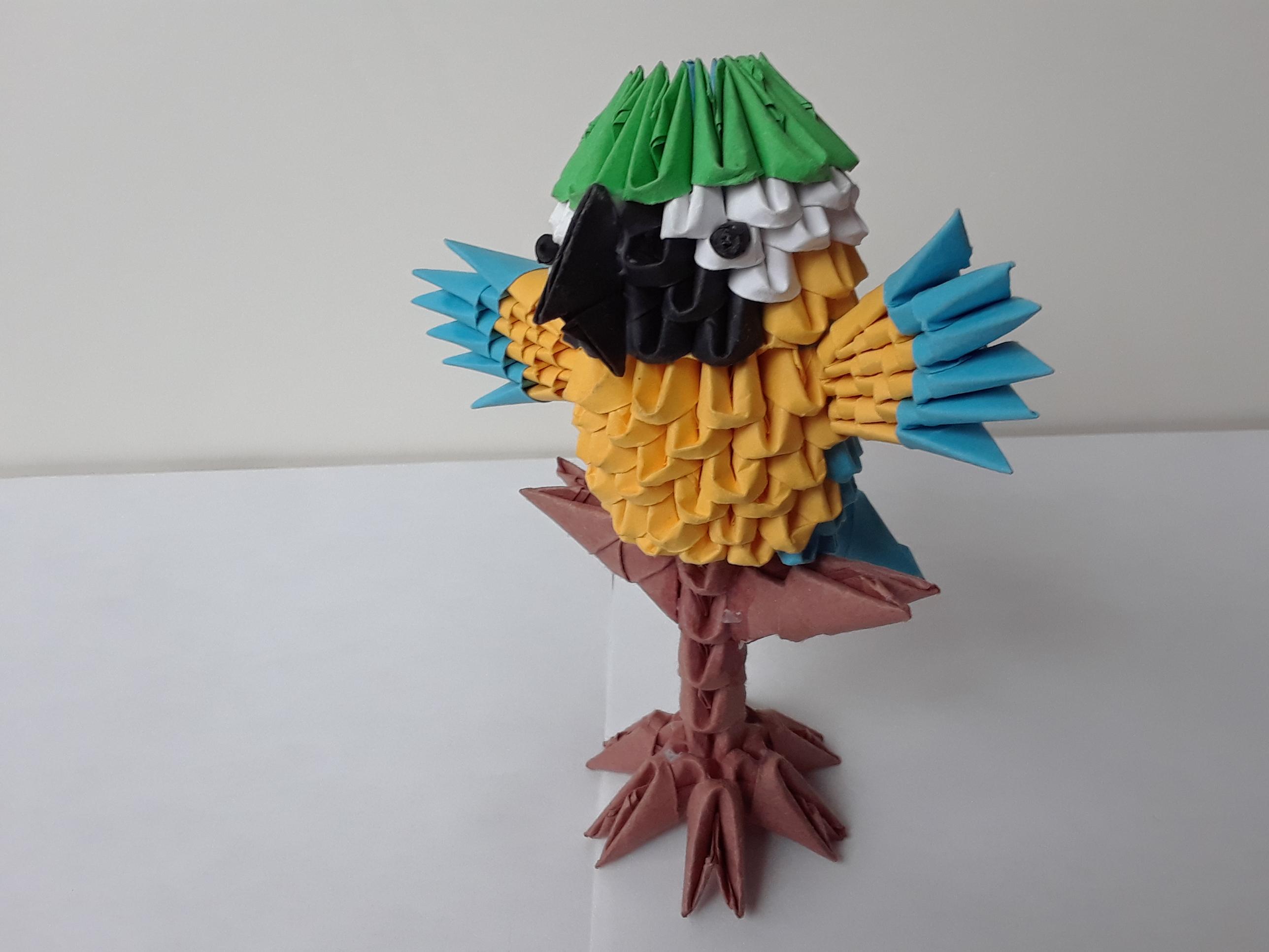 3D origami Majestic eagle | 3d origami, Origami art, Origami eagle | 1932x2576