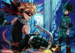 Bakugou vs Izuku   Boku no Hero Academia