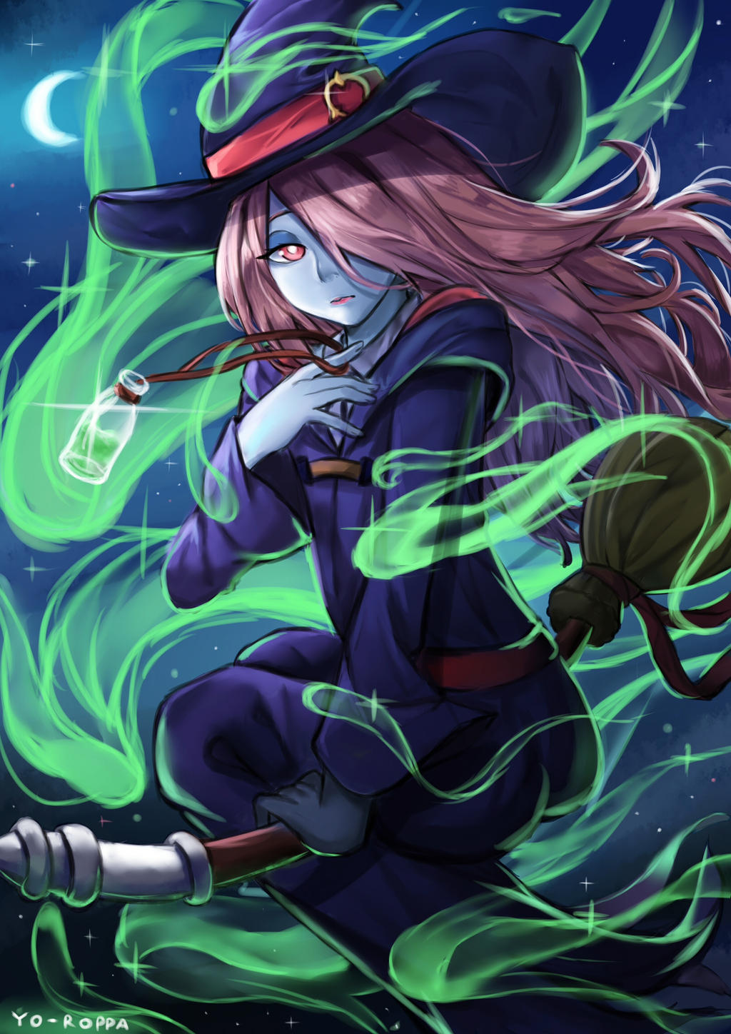 little witch academia porn