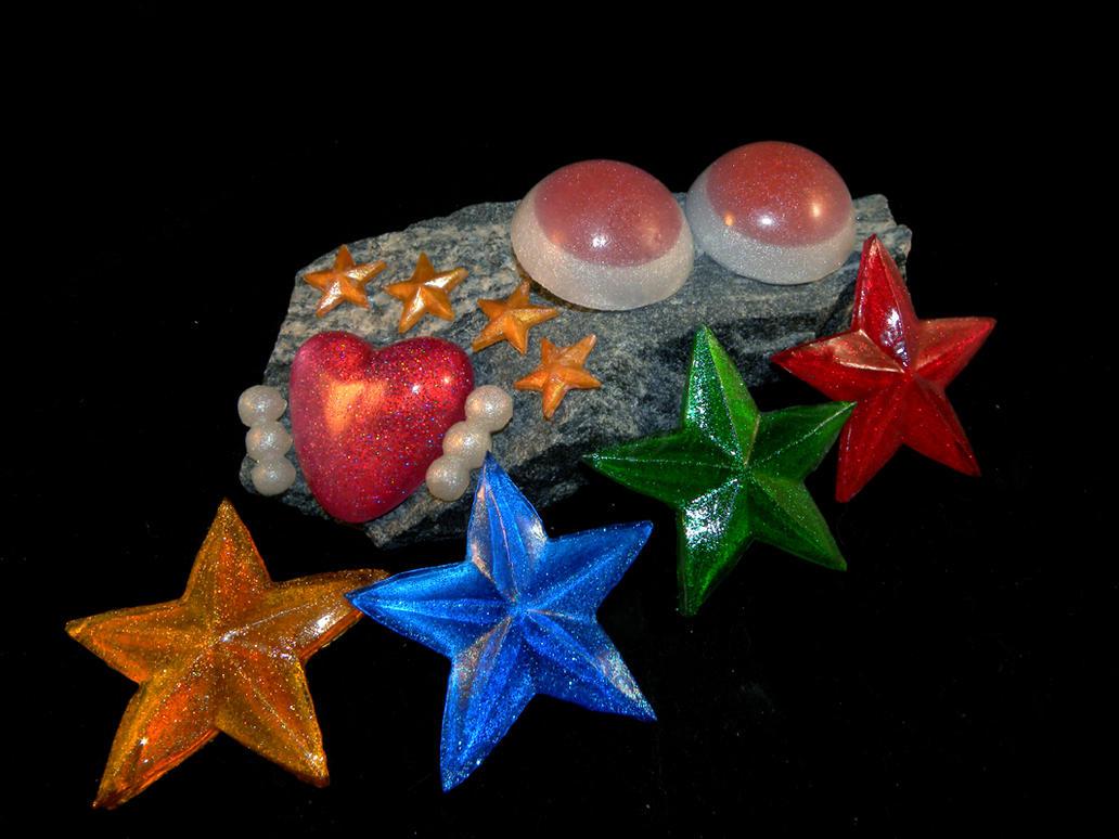 Eternal Senshi accessories by starlit-creations