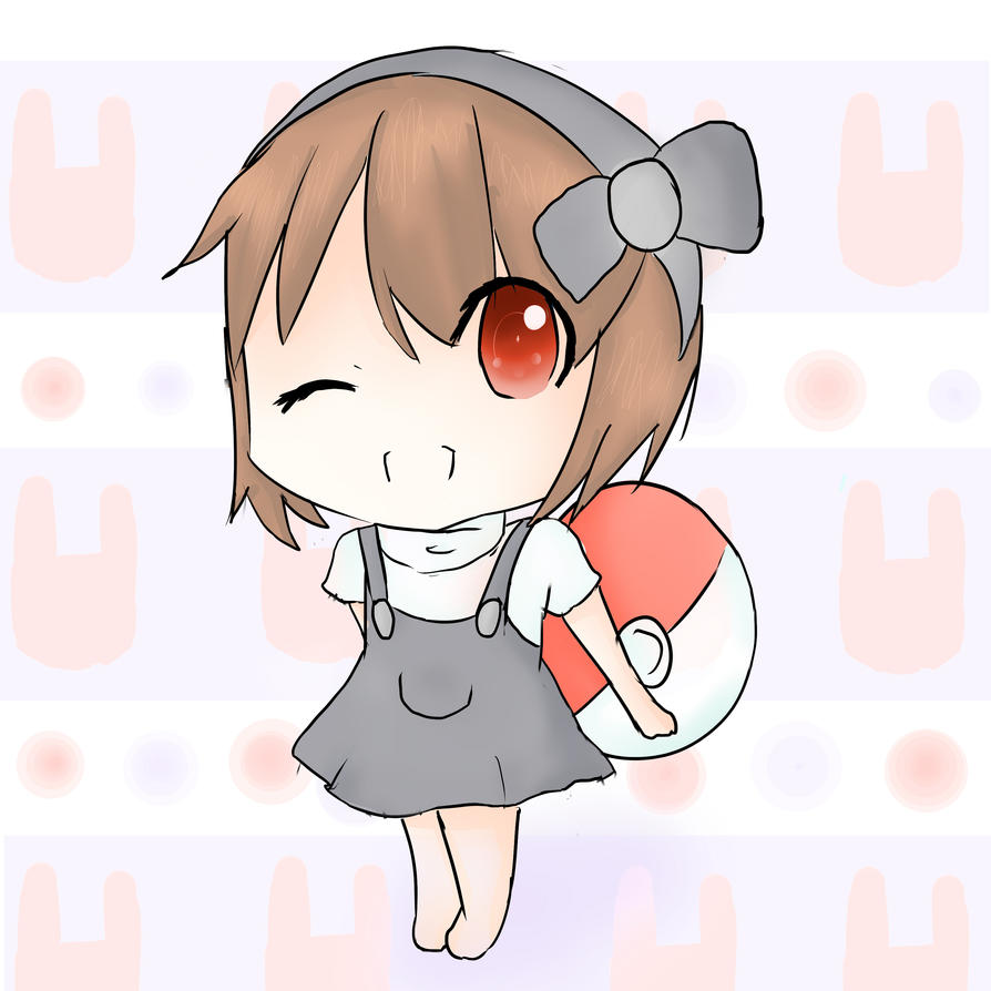 Pokemon chibi girl by Cheybobstevepants on DeviantArt