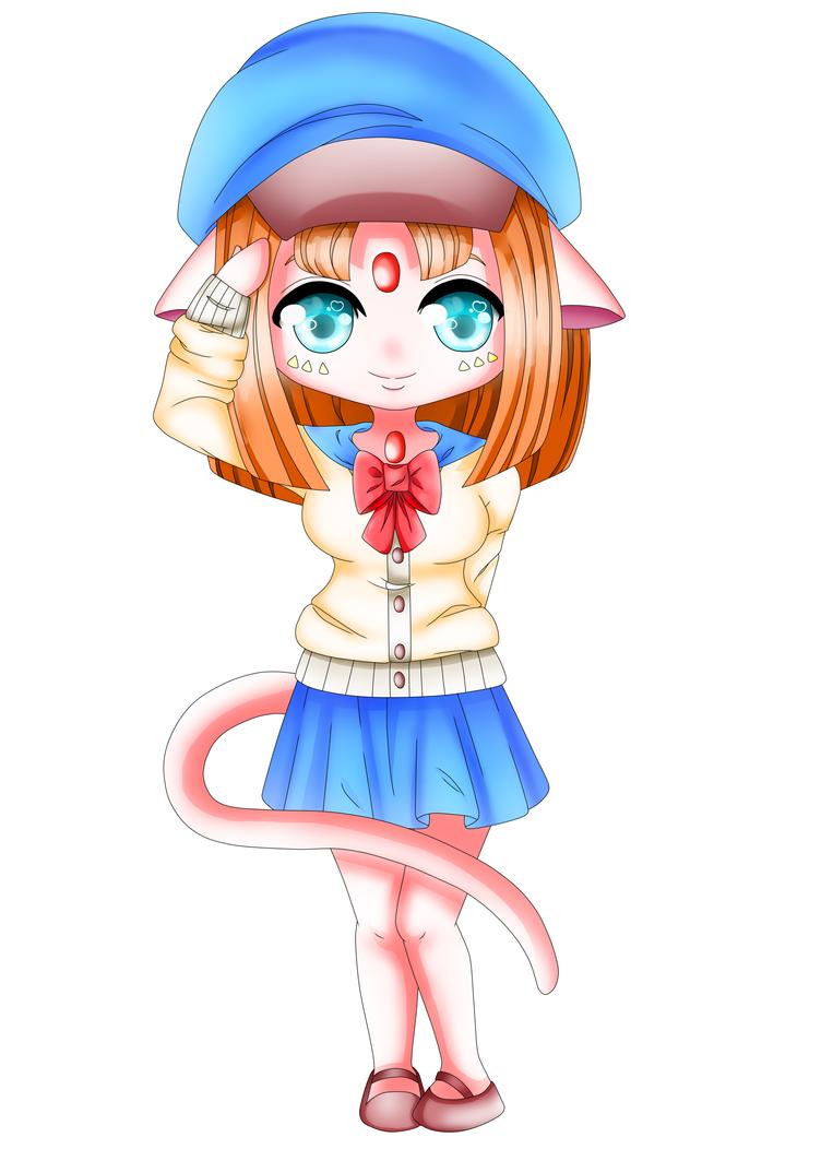 Chibi Neko by Mitsuki-Yukari