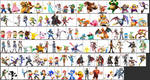 Super Smash Bros. Dream Roster Character SCALE