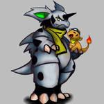 Dracyor (charmander) Slashter(nidorino)!