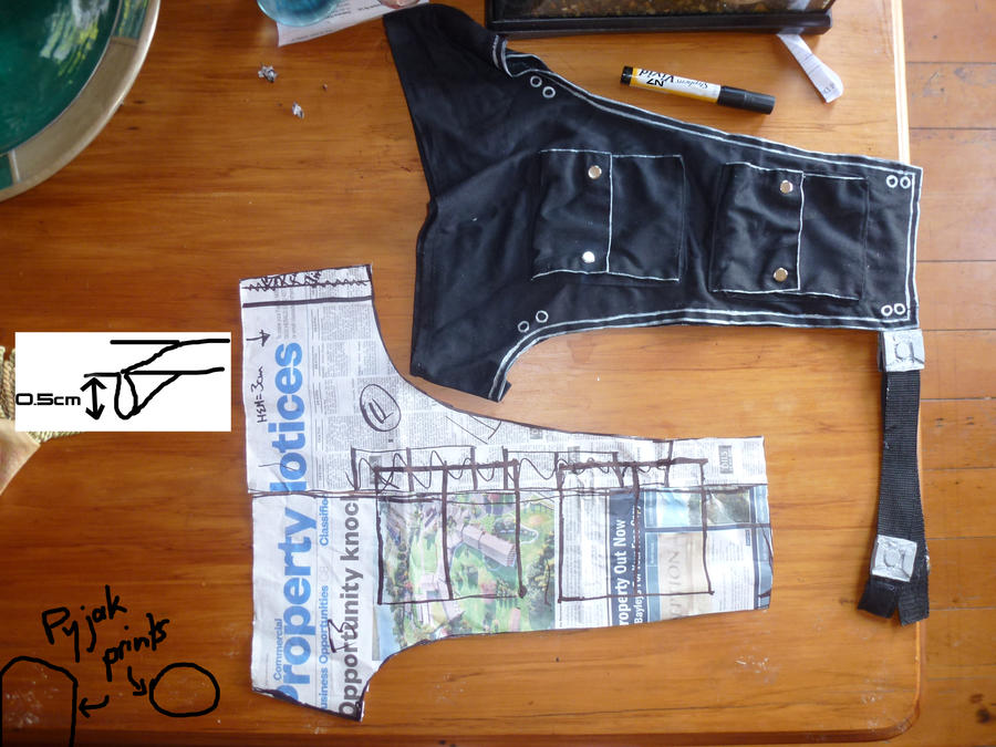 Mass Effect 3 Chap Pattern by Ellaire