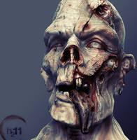 Zombie Woof by RawSunlight
