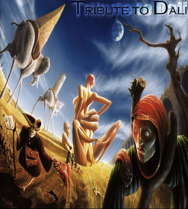 Dali Tribute by RawSunlight