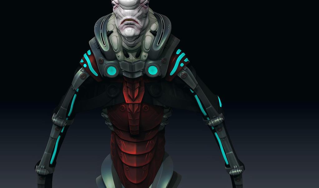 Gene-Engineered Off-World Recon Para - WIP 02 by RawSunlight