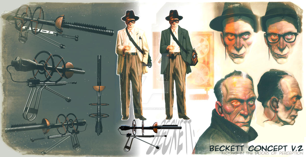 Beckett Concept by RawSunlight