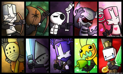 Castle Crashers Versus: Choose Your Character by pickles-4-nickles
