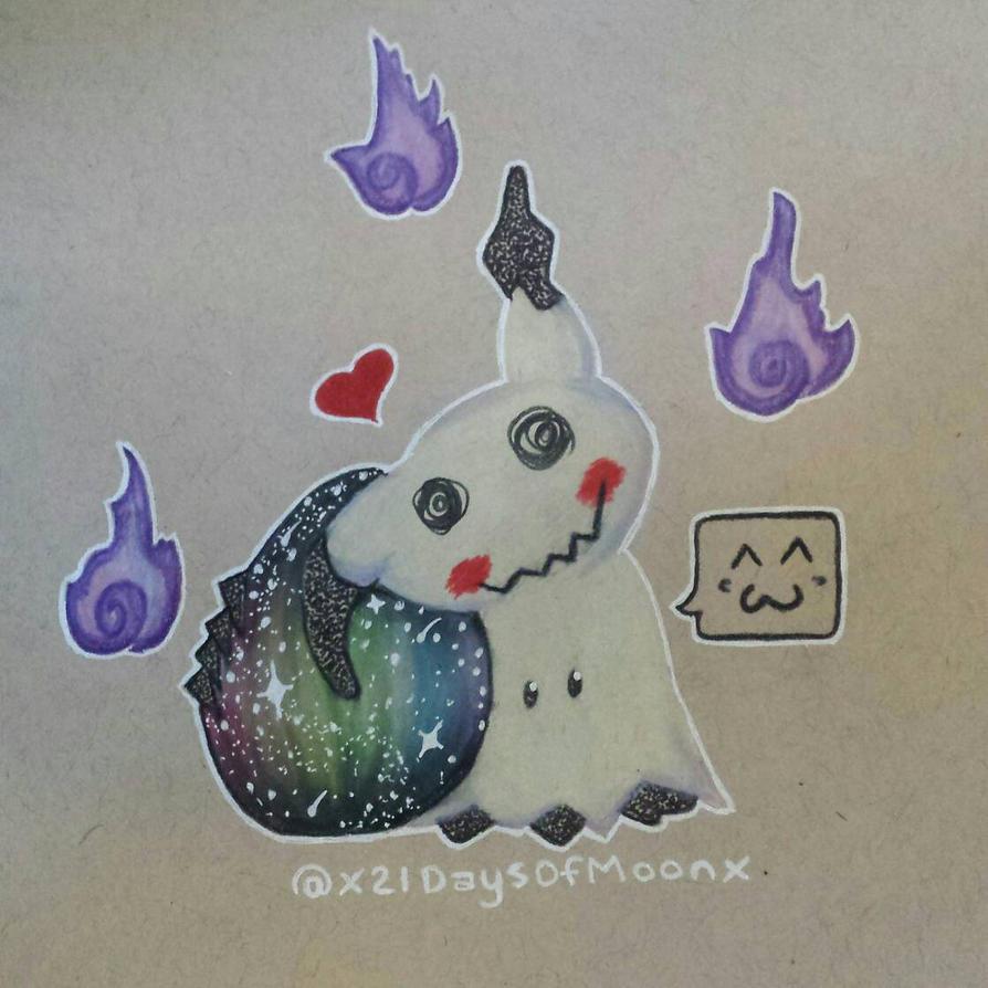 Mimikyu Mommy by x21DaysOfMoonX