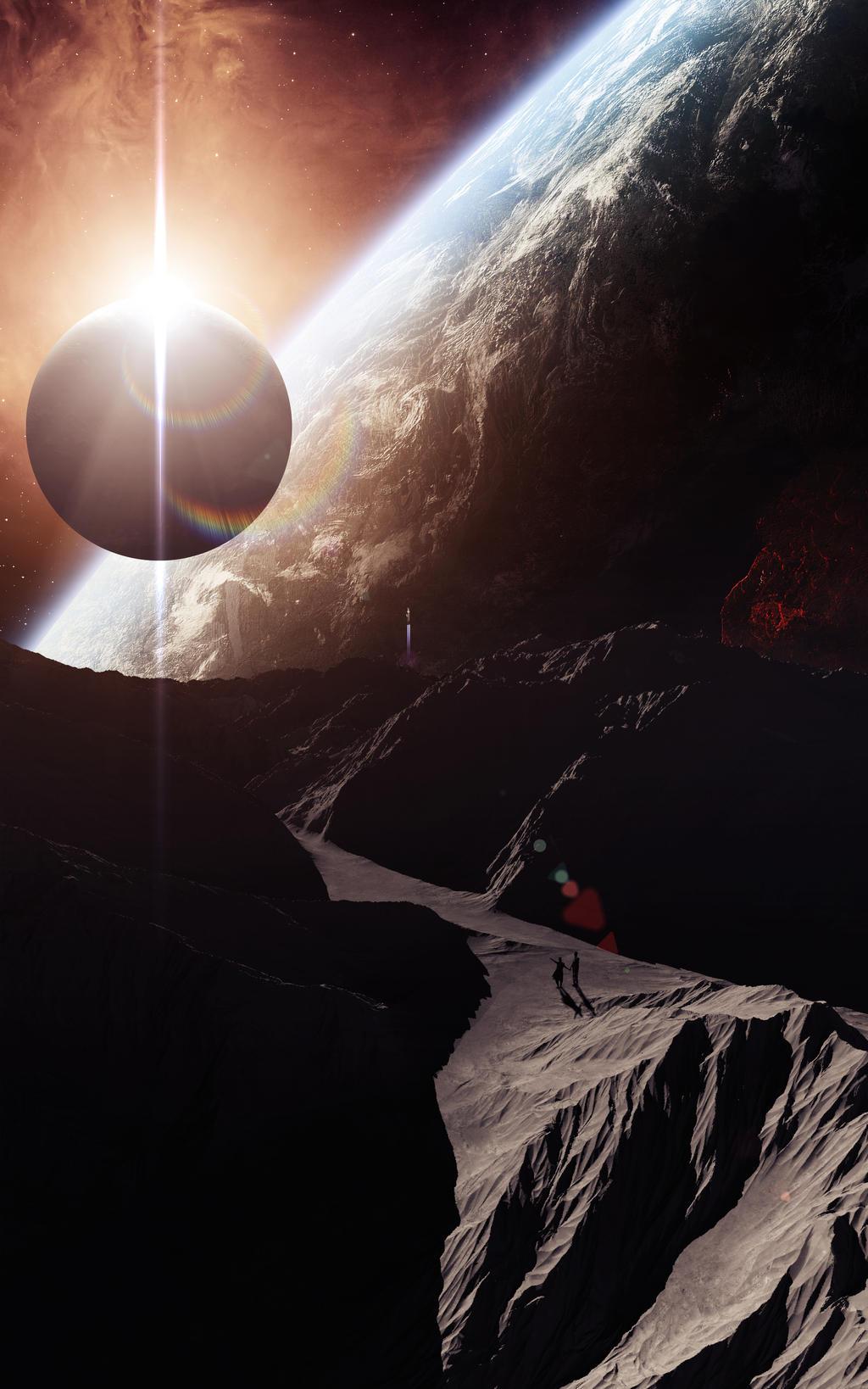 Caminando por la luna by isma-lopez