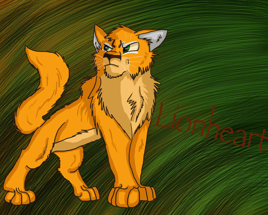 Lionheart - WCC Collab by mmoollyy10 on DeviantArt |Warrior Cats Lionheart