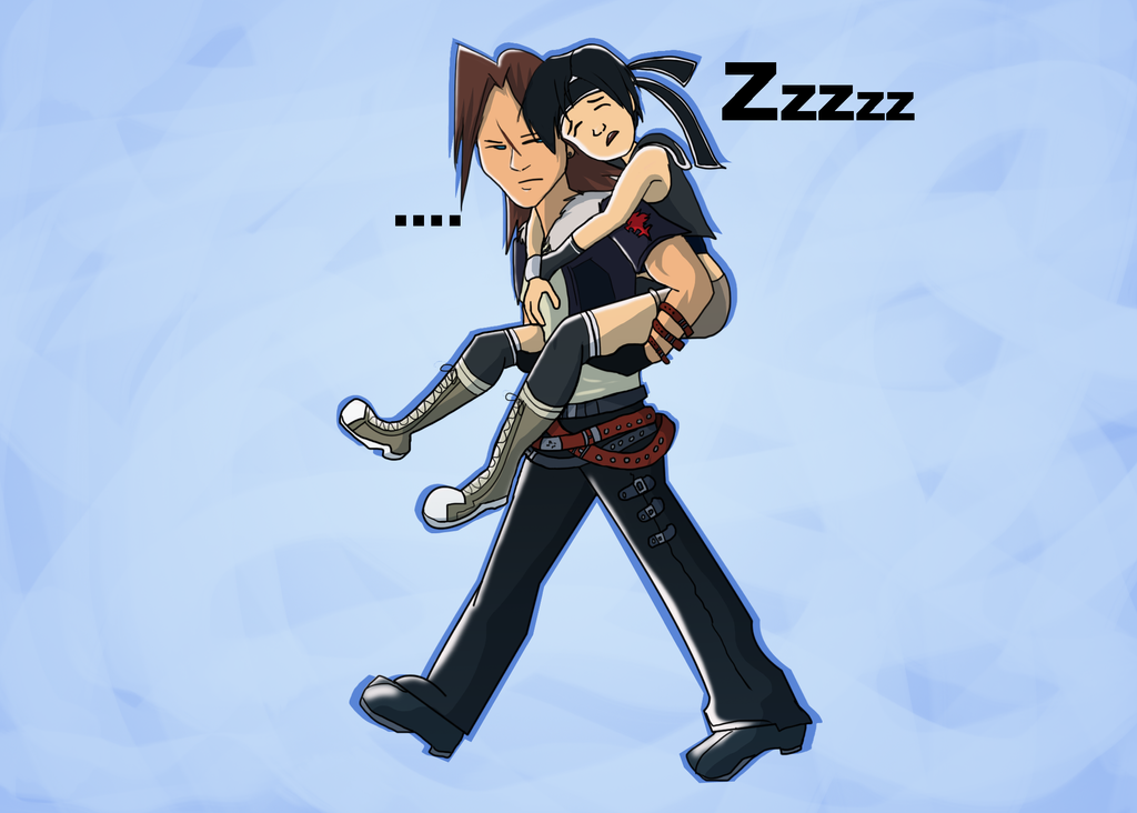 Lion and Ninja KH by Silverkey101 on DeviantArt