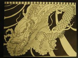 Japanese Dragon 2 by lirolx