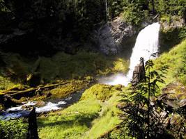 Sahalie Falls by smhill