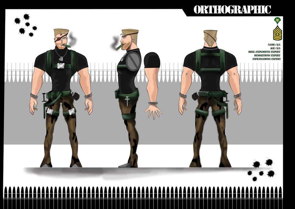 I Spy Cartoon Characters : Cartoon character spy ortho by de ty on deviantart