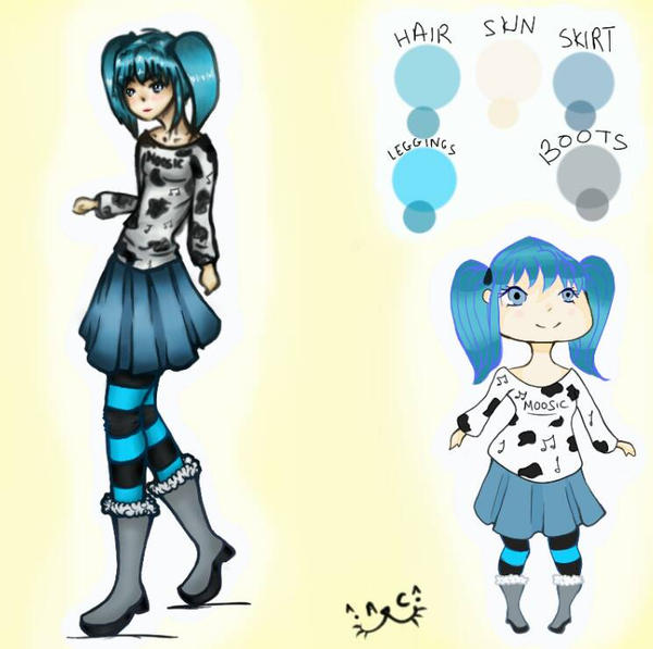 Zena - Original Character by Basket-Of-Fruit