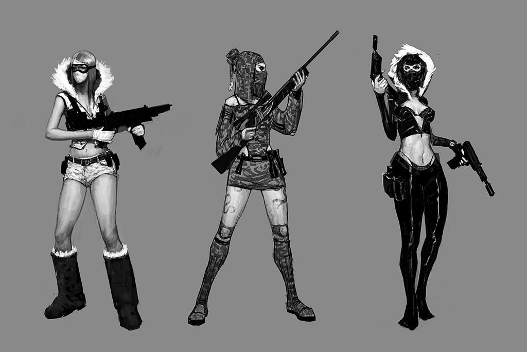 Call of duty girl