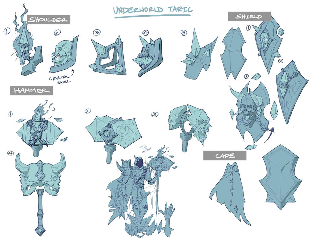 Underworld Taric Concepts by Reallygay