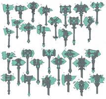 Underworld Taric Crystal Hammers by Reallygay