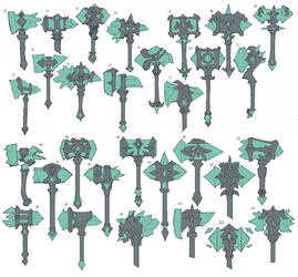 Underworld Taric Crystal Hammers