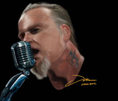 Metallica James Hetfield by Shredric