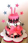 sweet 16 cake by diullbar22
