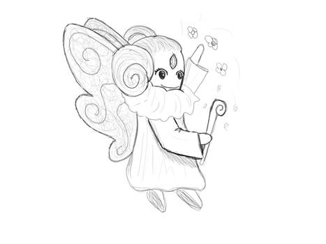 Fairy (from mind to paper!)