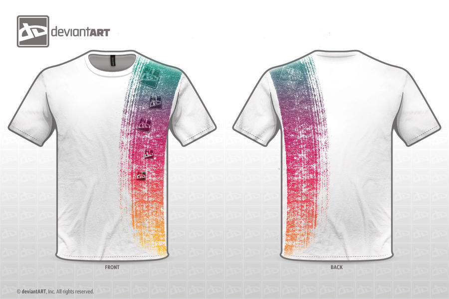 T shirt design rainbow by fiiress on deviantart for How to trademark at shirt design