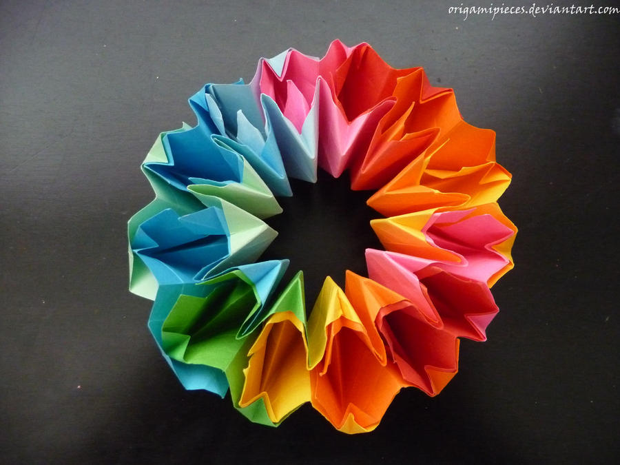 Origami Firework by OrigamiPieces