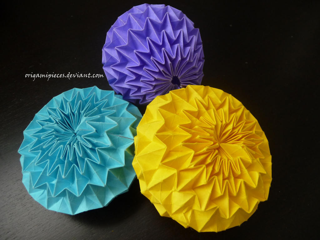 origami magic ball by origamipieces on deviantart
