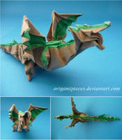 Origami Fiery Dragon by OrigamiPieces
