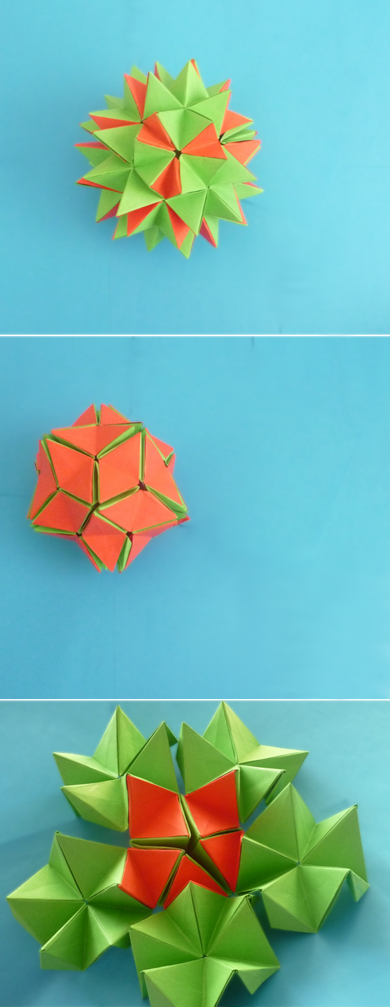 Origami revealed flower by origamipieces on deviantart origami revealed flower by origamipieces mightylinksfo