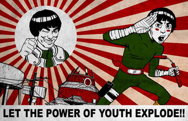 LET THE POWER OF YOUTH EXPLODE
