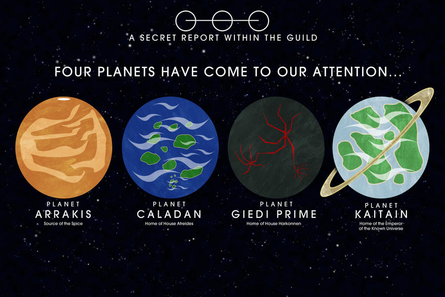 planets in the movie dune - photo #3