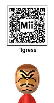 Master Tigress Mii