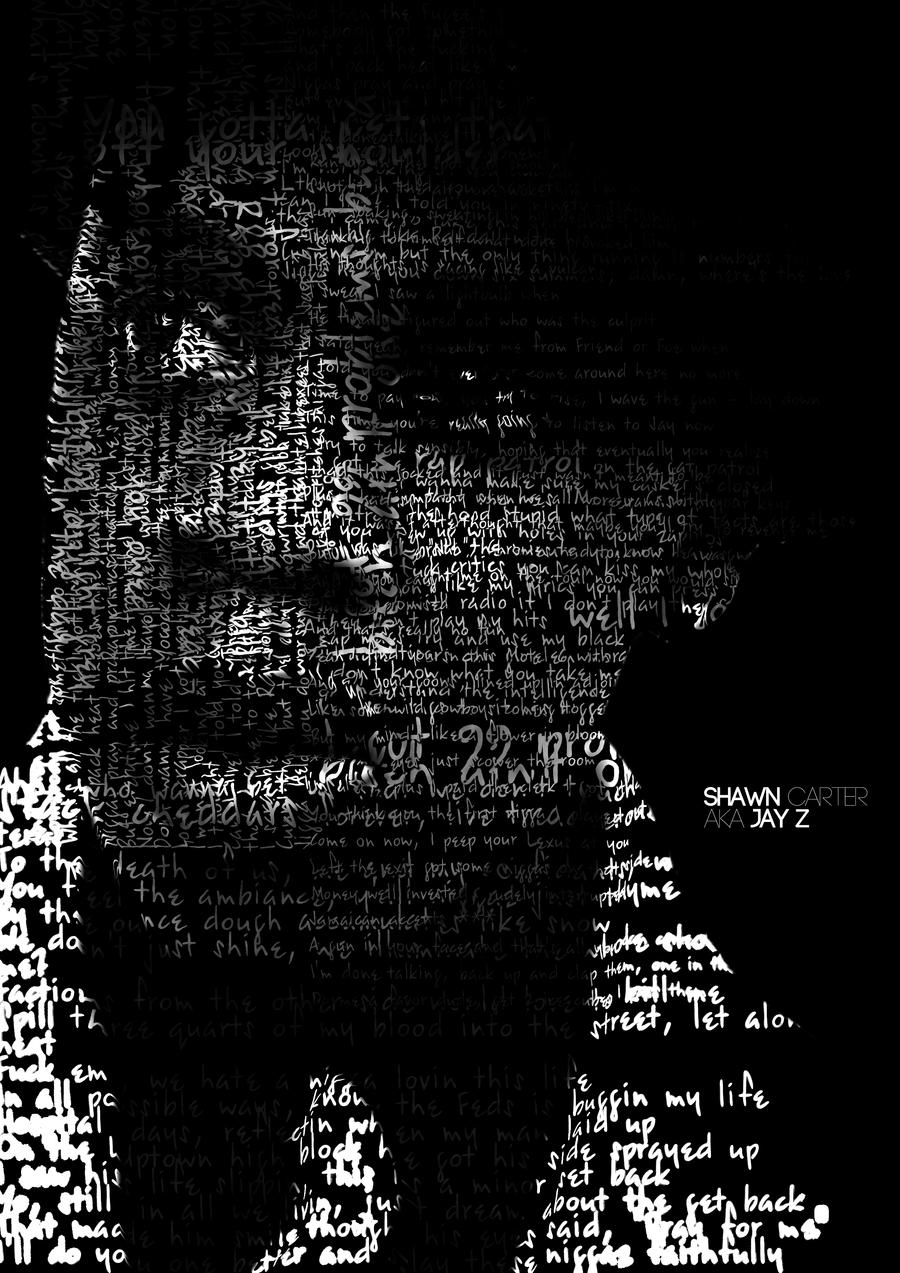 Jay Z Typography by NewLightDesigns