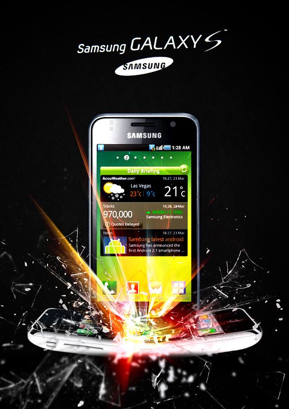 Samsung Galaxy S by radoslawgolebski