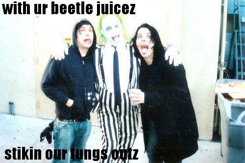 Frank, BeetleJuice, Gerard by roflstars